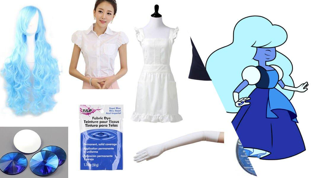 Sapphire from Steven Universe Cosplay Tutorial