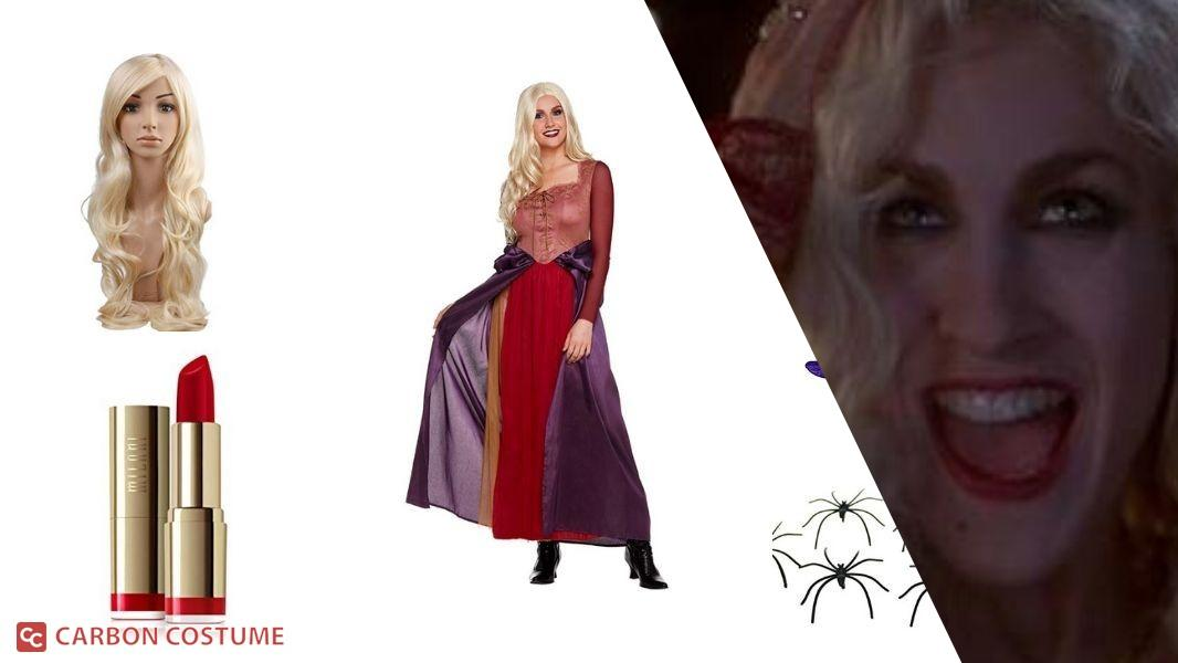 Sarah Sanderson from Hocus Pocus Cosplay Tutorial
