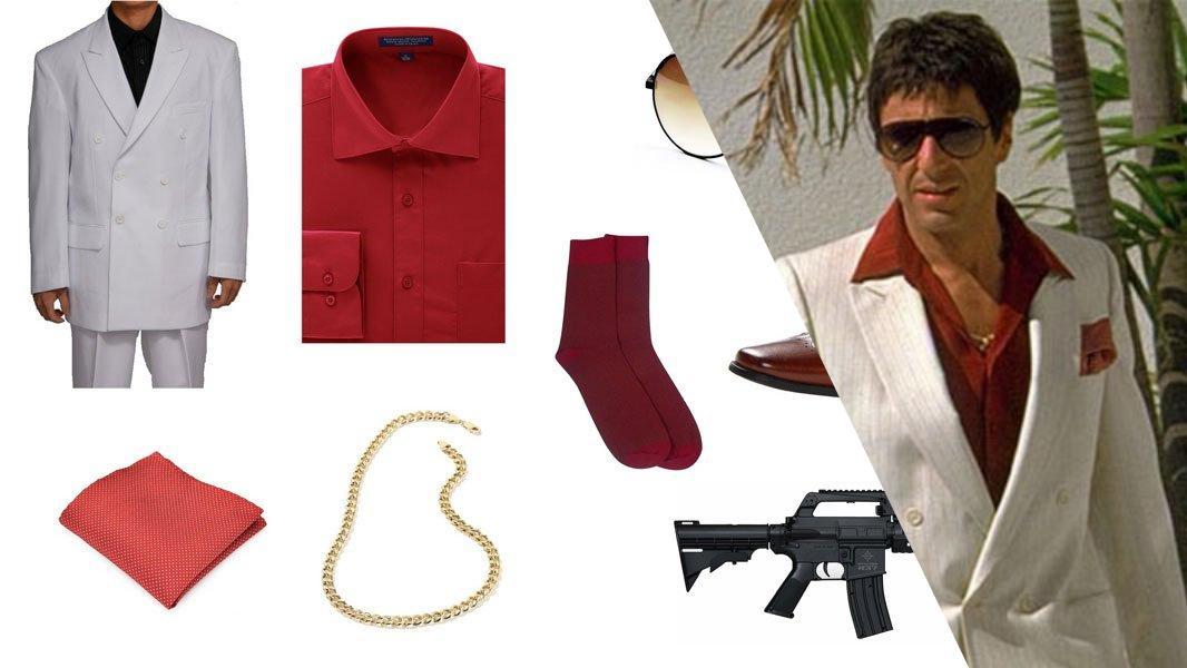 """""""Scarface"""" Tony Montana Cosplay Tutorial"""