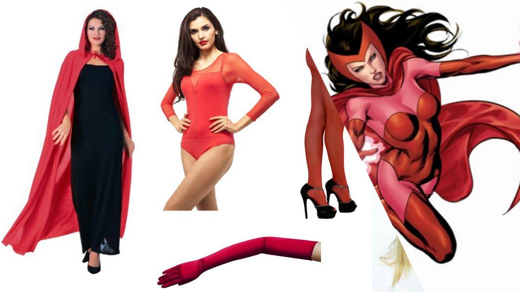 Scarlet Witch Cosplay Tutorial