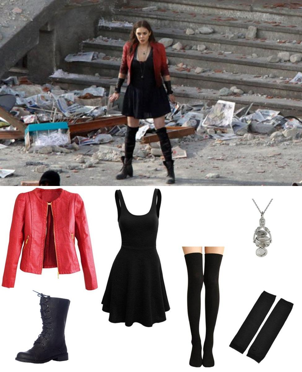 Scarlet Witch from Avengers: Age of Ultron Cosplay Guide