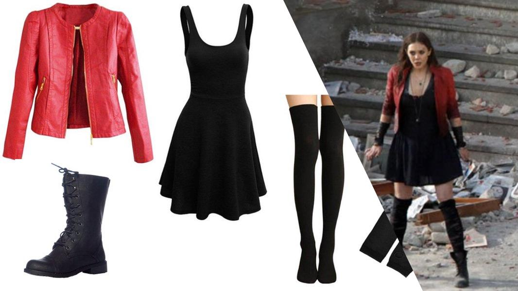 Scarlet Witch from Avengers: Age of Ultron Cosplay Tutorial