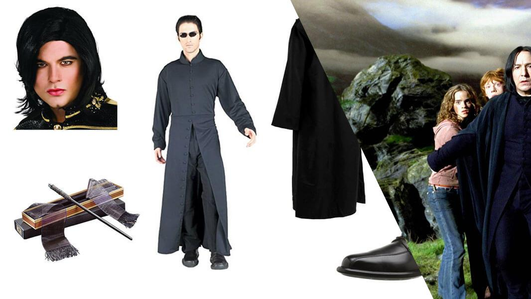 Severus Snape Cosplay Tutorial