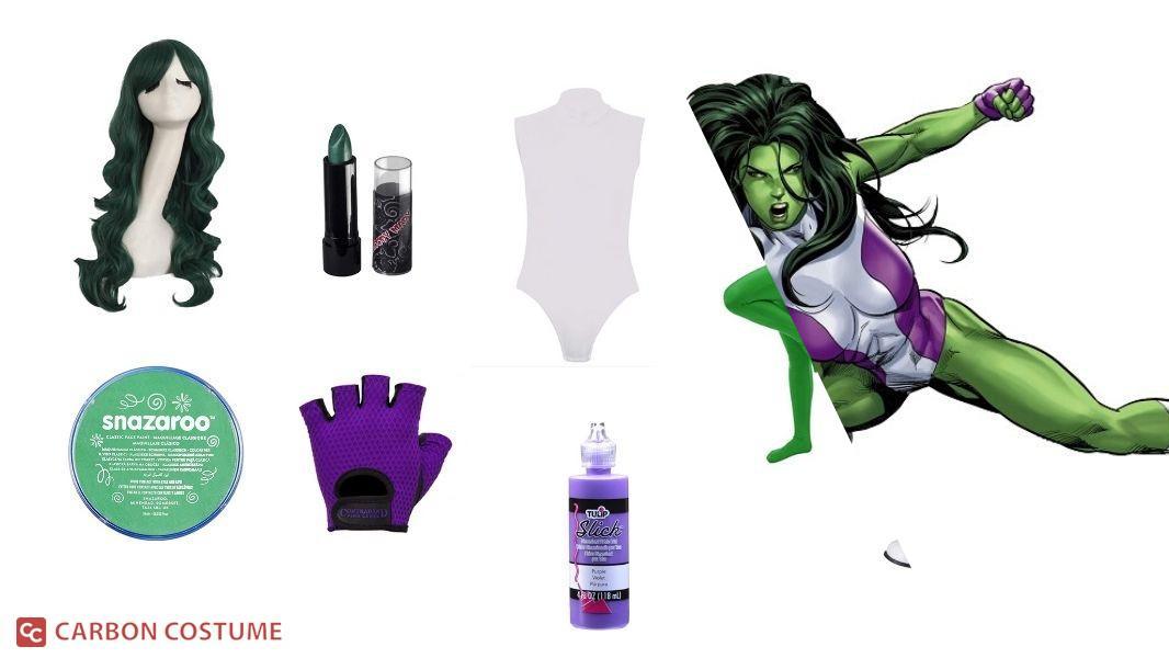 She-Hulk Cosplay Tutorial
