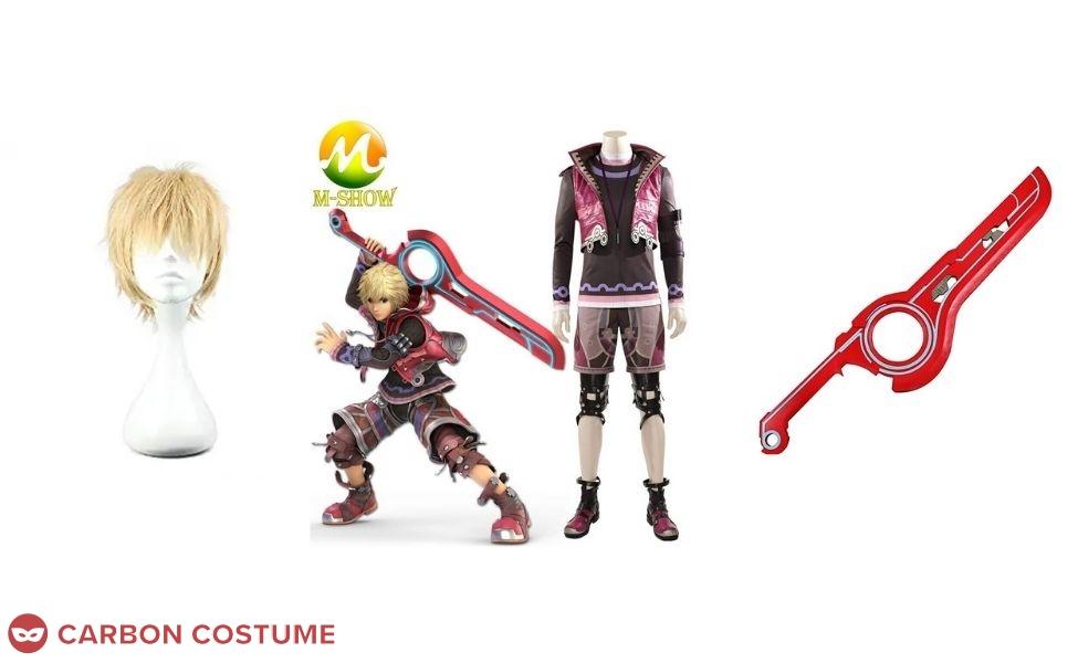 Shulk from Xenoblade Chronicles Costume