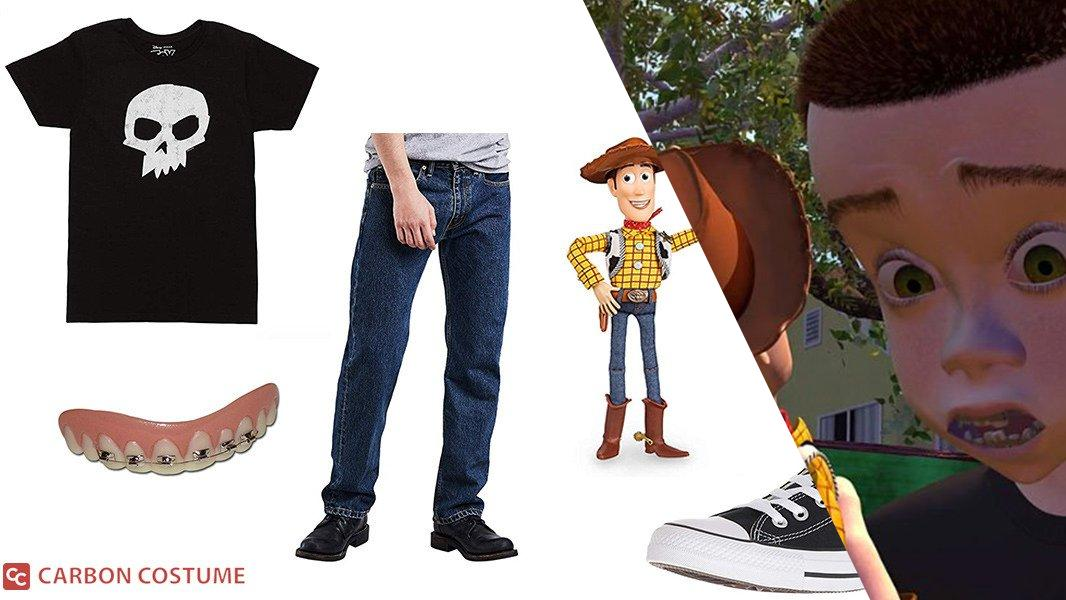 Sid from Toy Story Cosplay Tutorial