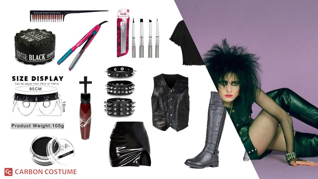 Siouxsie Sioux from Siouxsie and the Banshees Cosplay Tutorial