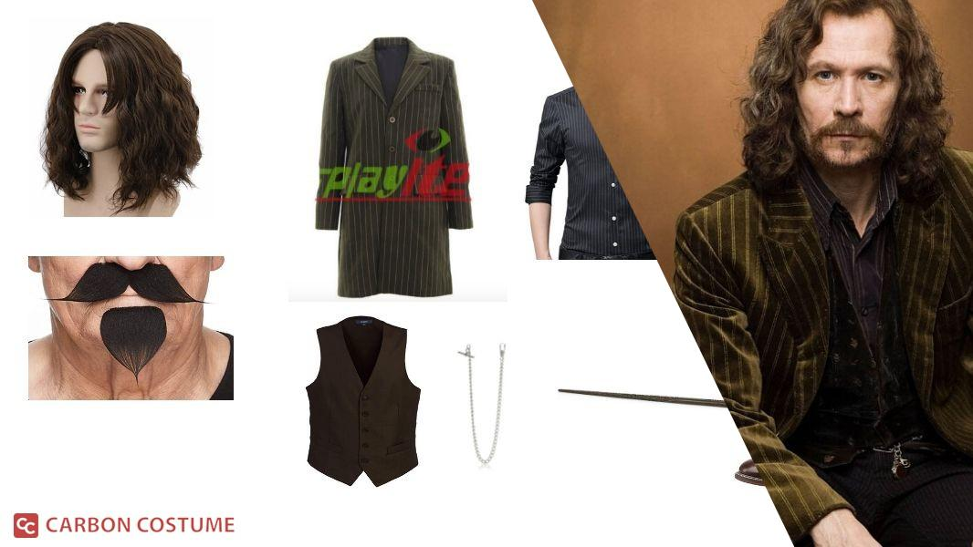 Sirius Black from Harry Potter Cosplay Tutorial