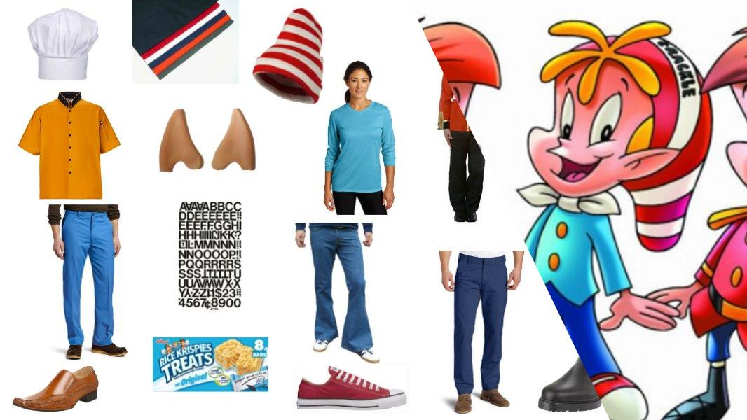 Snap, Crackle, and Pop Cosplay Tutorial