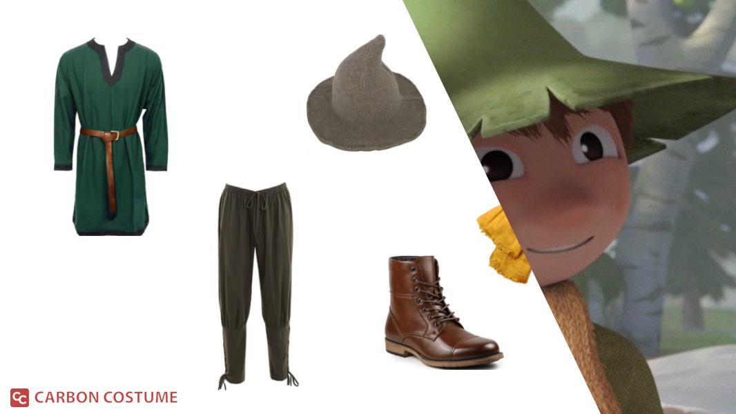 Snufkin from Moominvalley Cosplay Tutorial