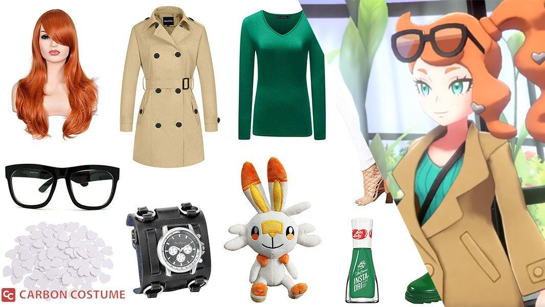 Sonia from Pokemon Sword and Shield Cosplay Tutorial