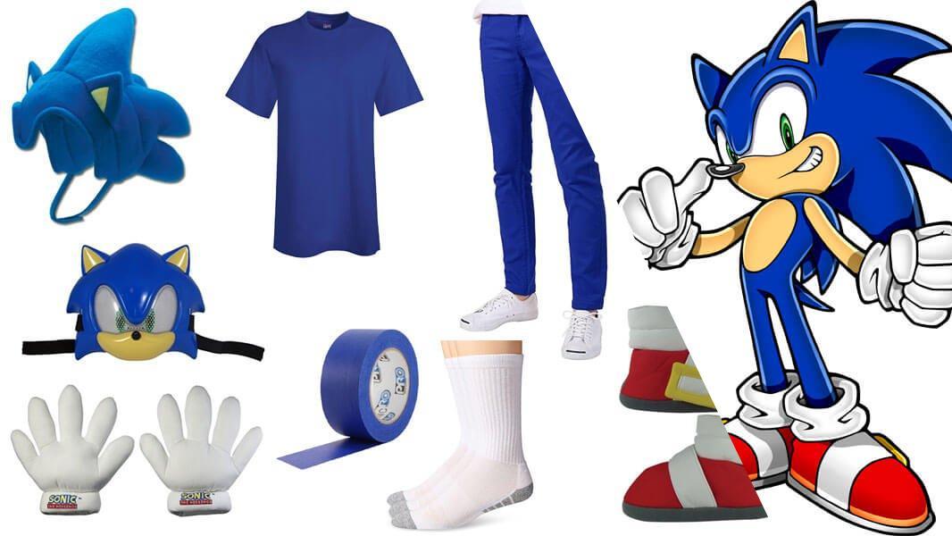 Sonic the Hedgehog Cosplay Tutorial