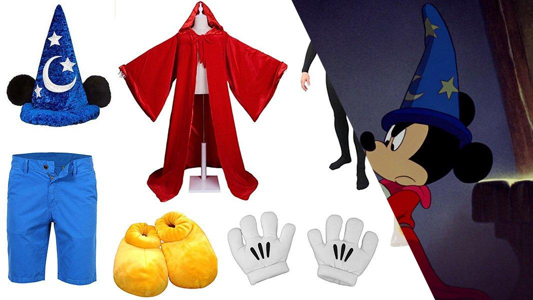 Sorcerer Mickey Mouse from Fantasia Cosplay Tutorial