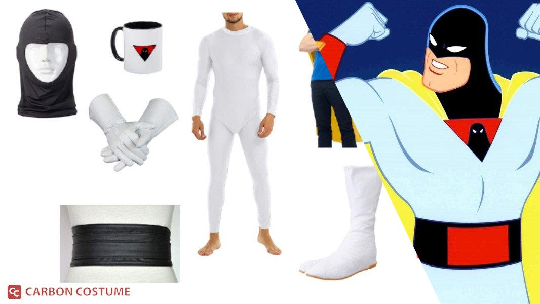 Space Ghost from Space Ghost Coast to Coast Cosplay Tutorial
