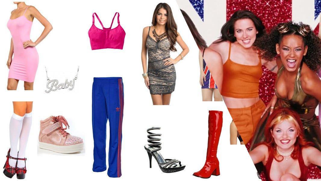 Spice Girls Cosplay Tutorial