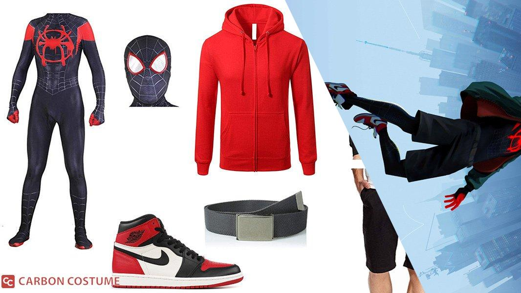 Spider-Man (Miles Morales) from Into the Spider-Verse Cosplay Tutorial