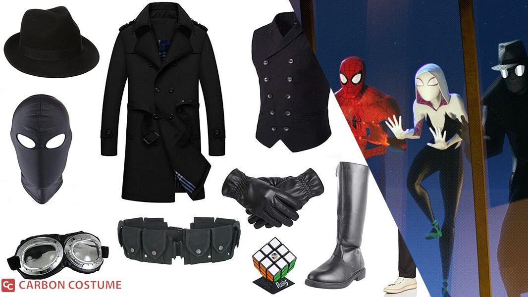 Spider-Man Noir from Spider-Man: Into the Spider-Verse Cosplay Tutorial