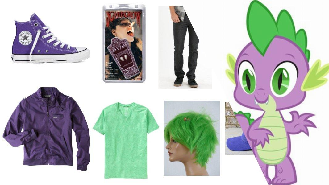 Spike The Dragon Cosplay Tutorial