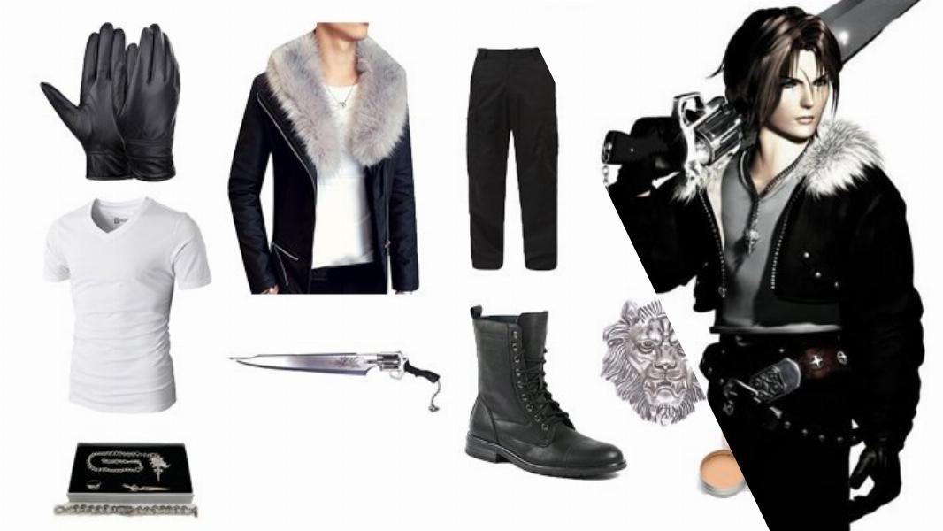 Squall Leonhart in Final Fantasy VIII Cosplay Tutorial