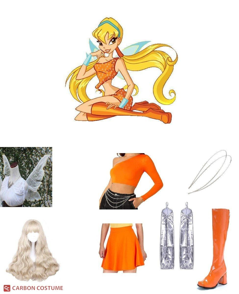 Stella from Winx Club Cosplay Guide