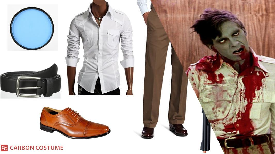 """Stephen """"Flyboy"""" Andrews from Dawn of the Dead Cosplay Tutorial"""