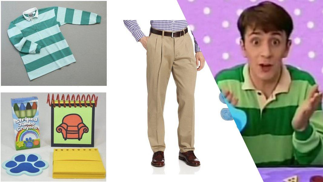 Steve from Blue's Clues Cosplay Tutorial