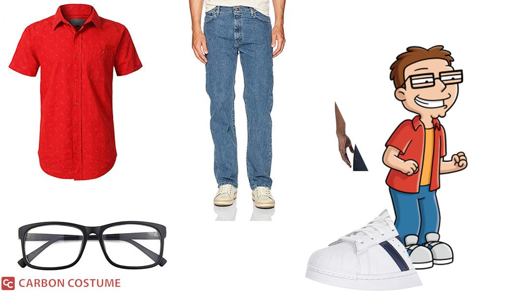 Steve Smith from American Dad Cosplay Tutorial