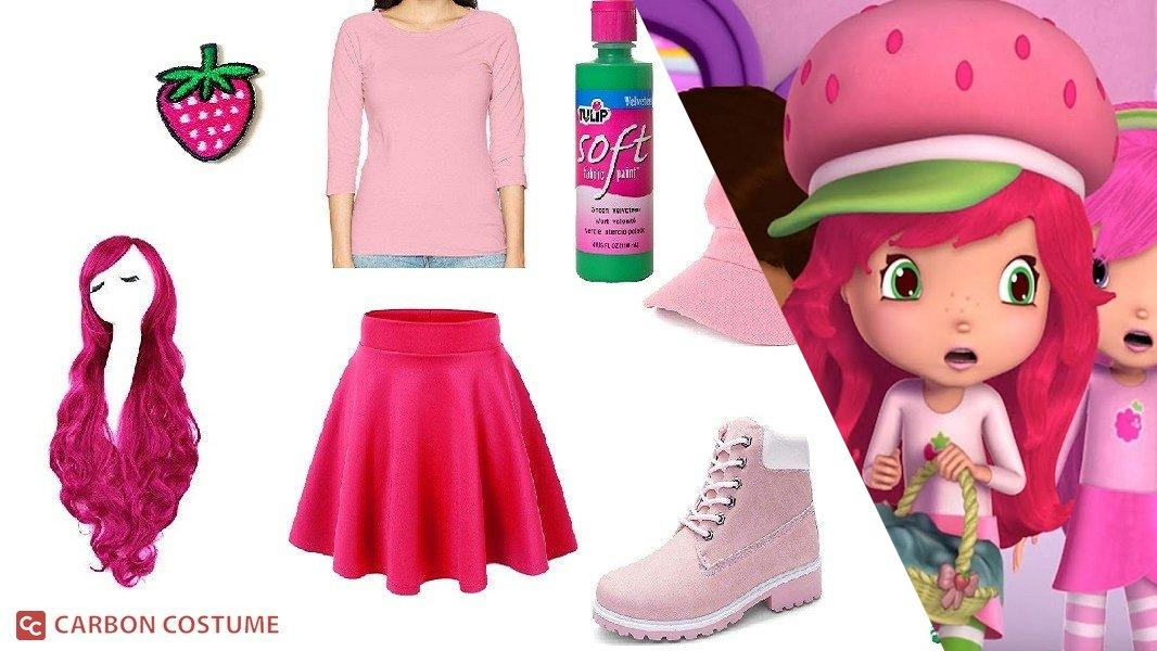 Strawberry Shortcake from Berry Bitty Adventures Cosplay Tutorial