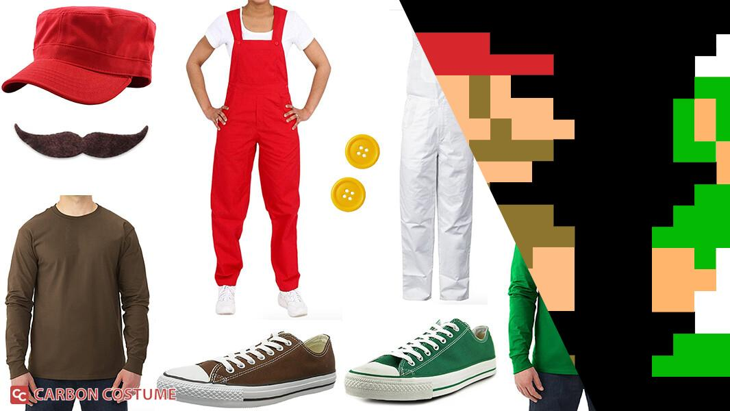 Super Mario Brothers from NES Cosplay Tutorial