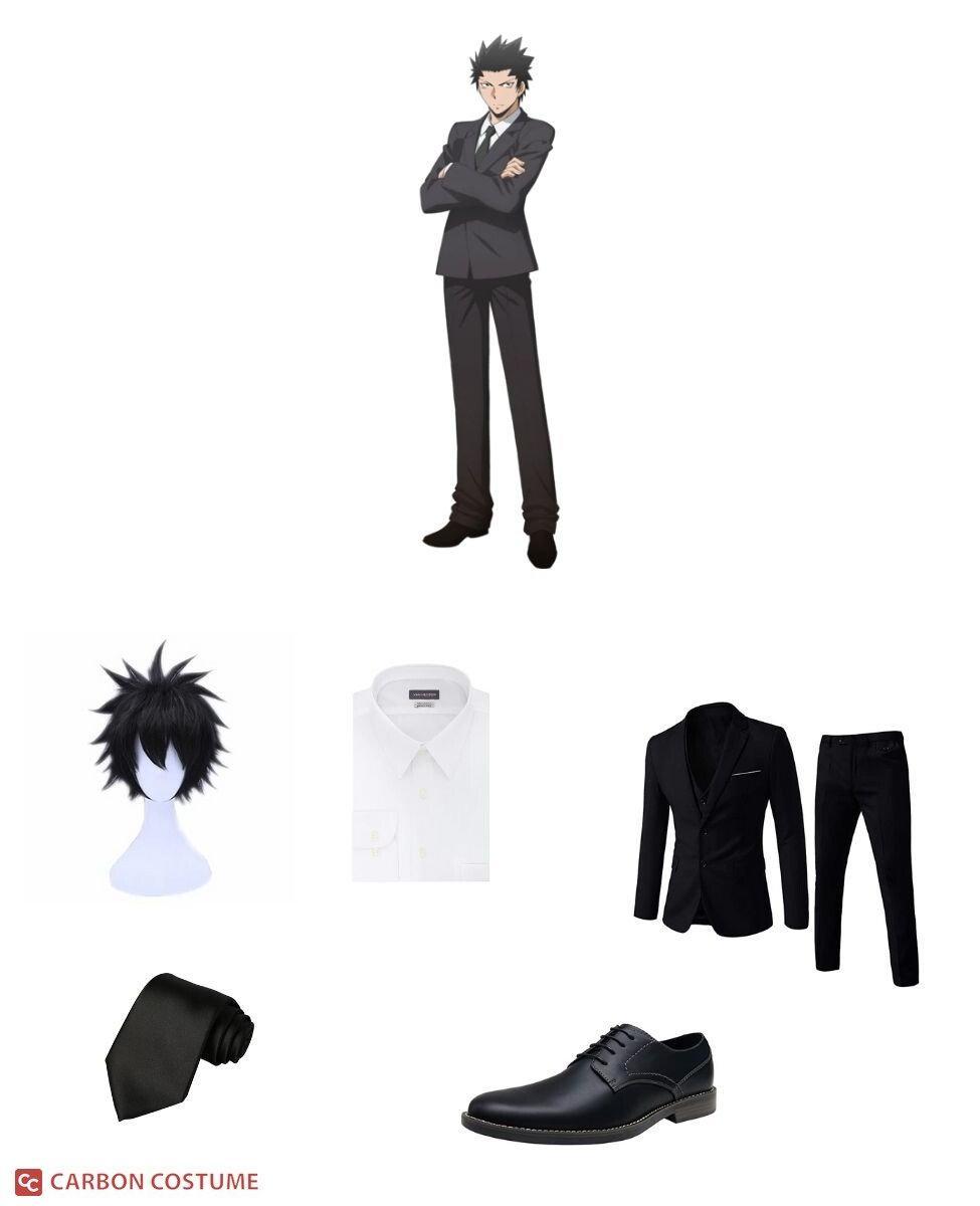 Tadaomi Karasuma from Assassination Classroom Cosplay Guide