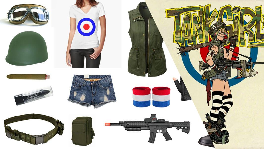 Tank Girl Cosplay Tutorial