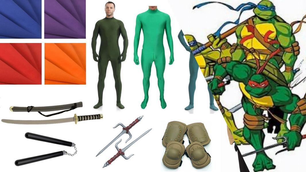 Teenage Mutant Ninja Turtles Cosplay Tutorial