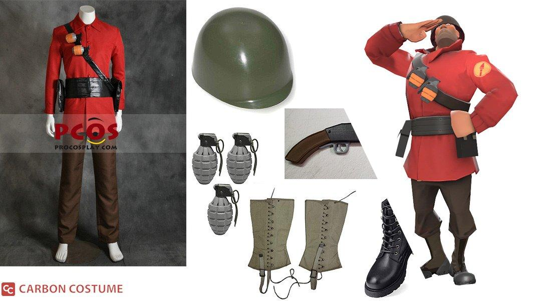 TF2 Soldier Cosplay Tutorial