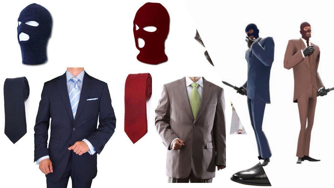 TF2 Spy Cosplay Tutorial