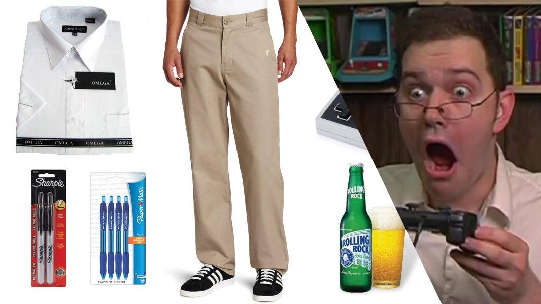 The Angry Video Game Nerd Cosplay Tutorial