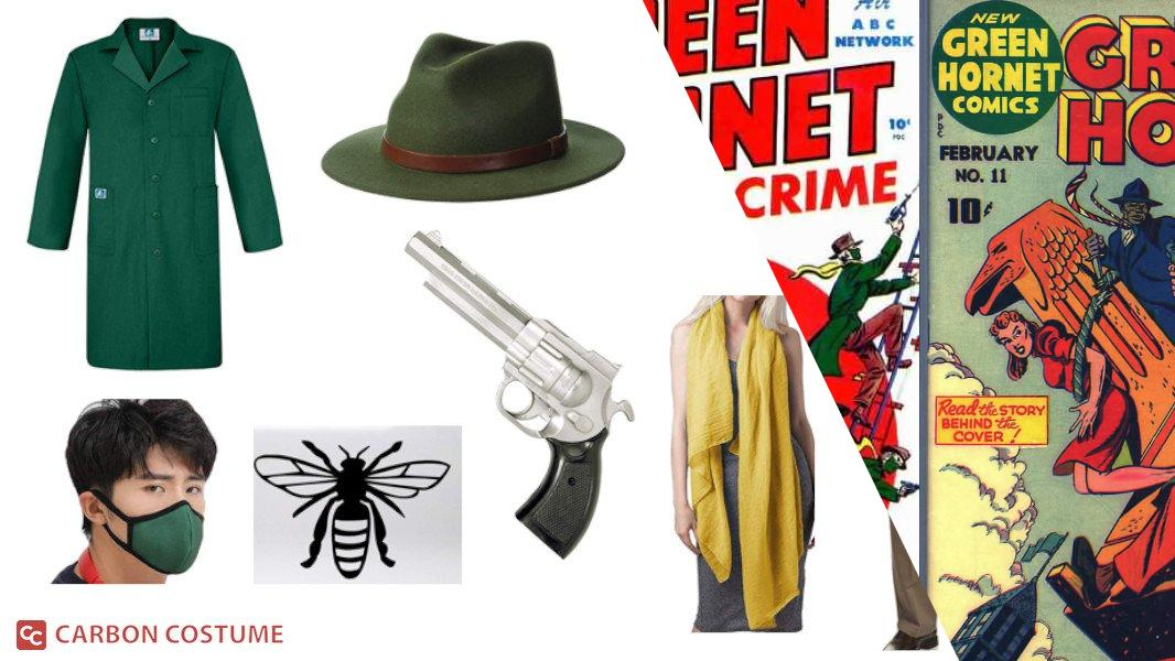 The Green Hornet (1940s) Cosplay Tutorial