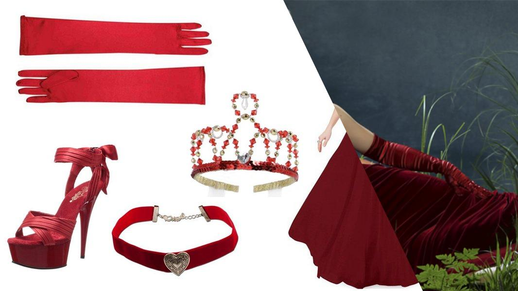 The Red Queen from Once Upon a Time in Wonderland Cosplay Tutorial