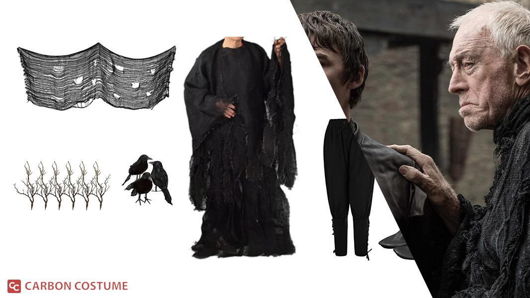 The Three-Eyed Raven from Game of Thrones Cosplay Tutorial