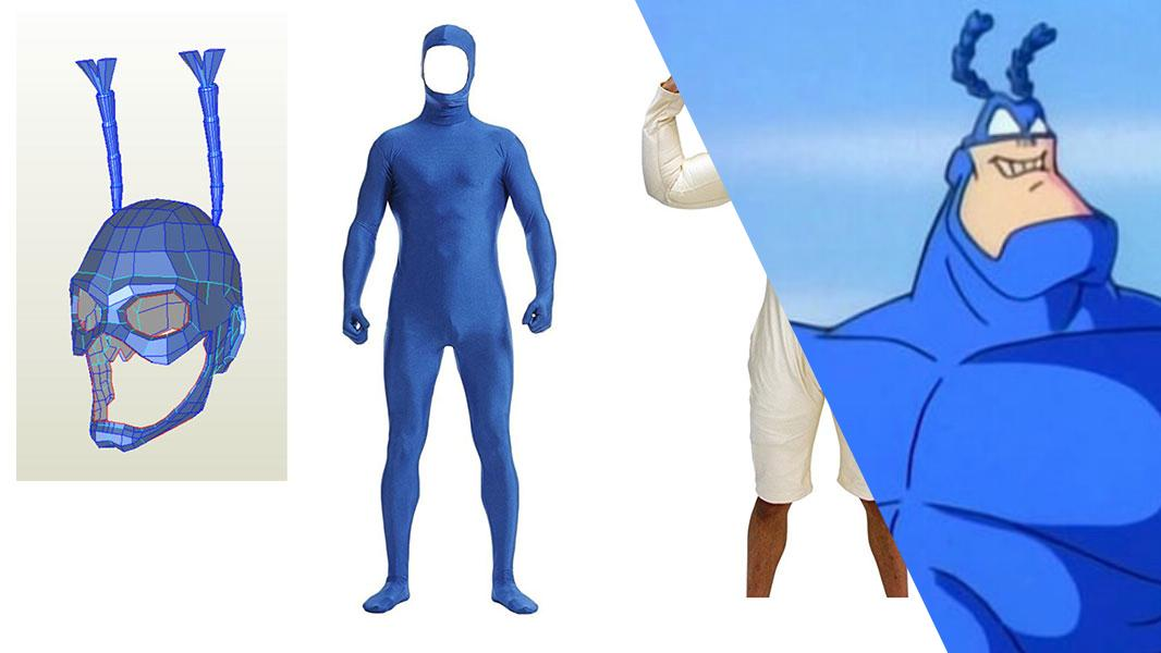The Tick Cosplay Tutorial