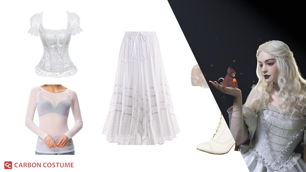 The White Queen from Alice in Wonderland Cosplay Tutorial
