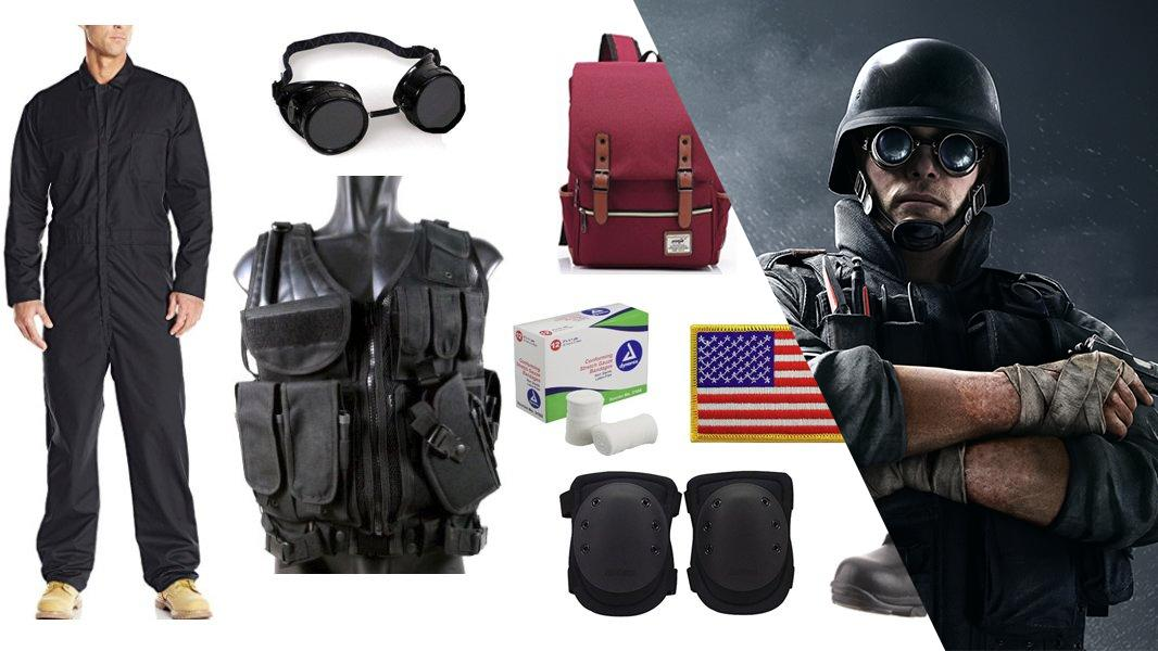 Thermite from Rainbow Six Siege Cosplay Tutorial