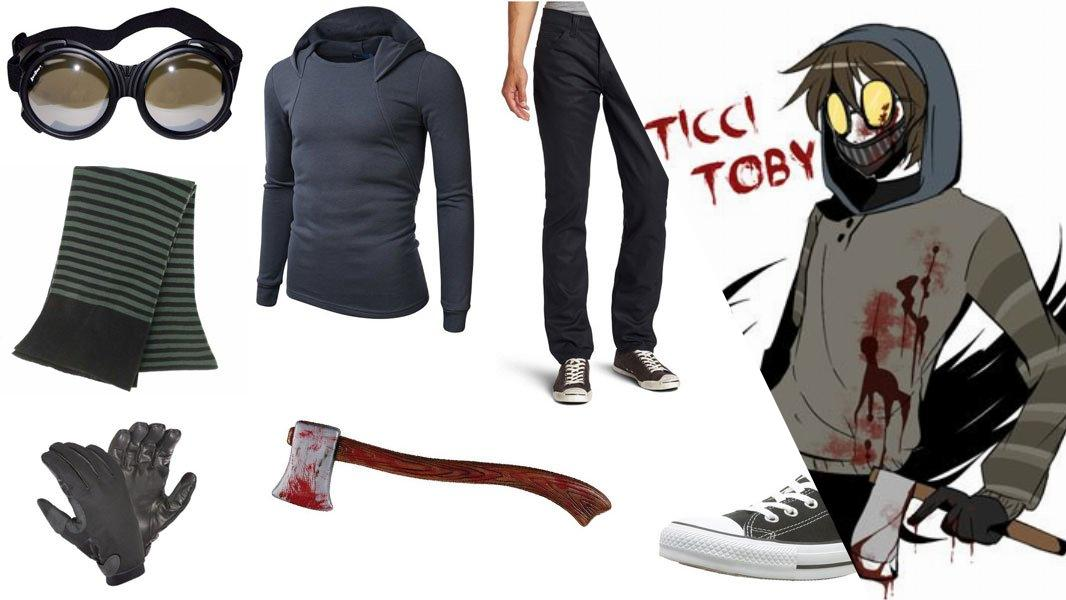 Ticci Toby Cosplay Tutorial