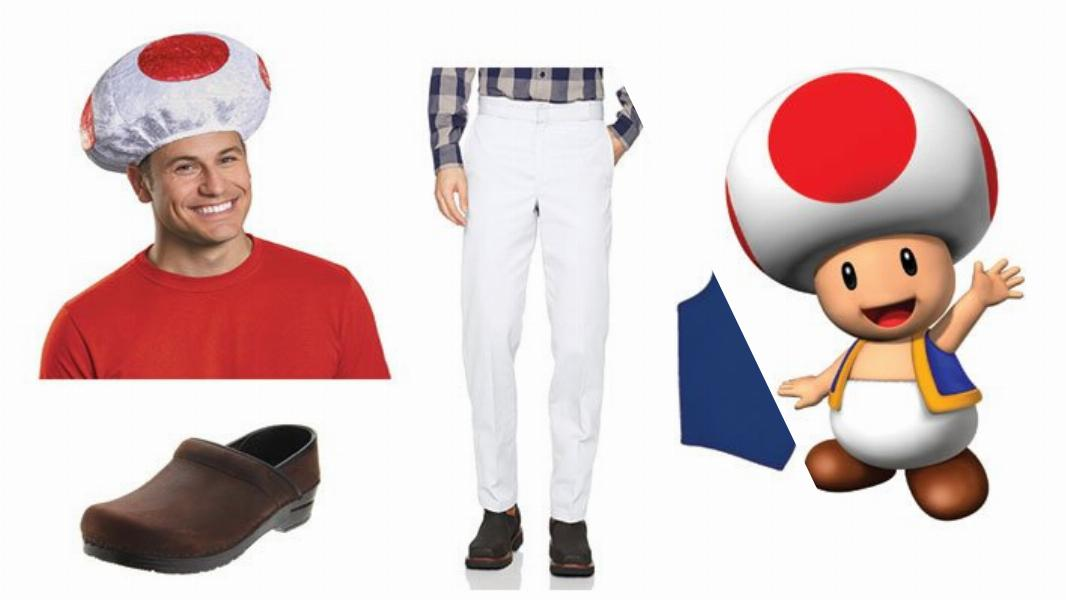 Toad Cosplay Tutorial