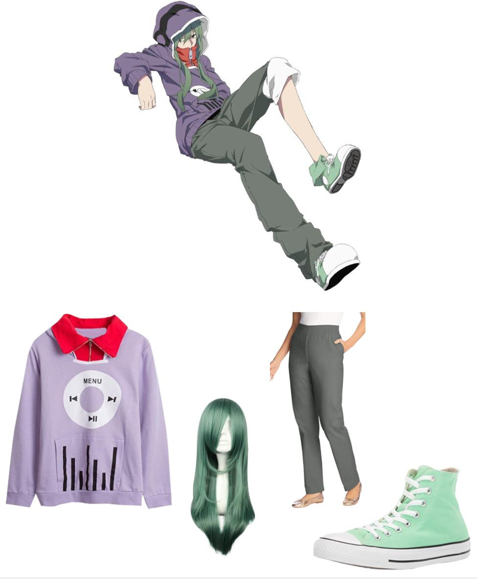 Tsubomi Kido from Kagerou Project Cosplay Guide