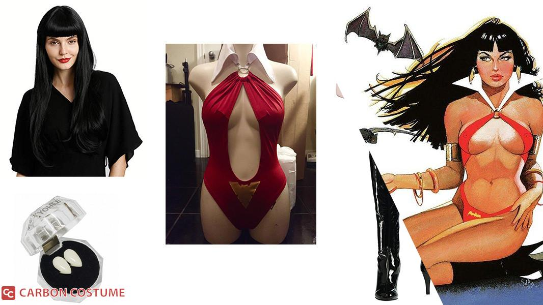Vampirella Cosplay Tutorial