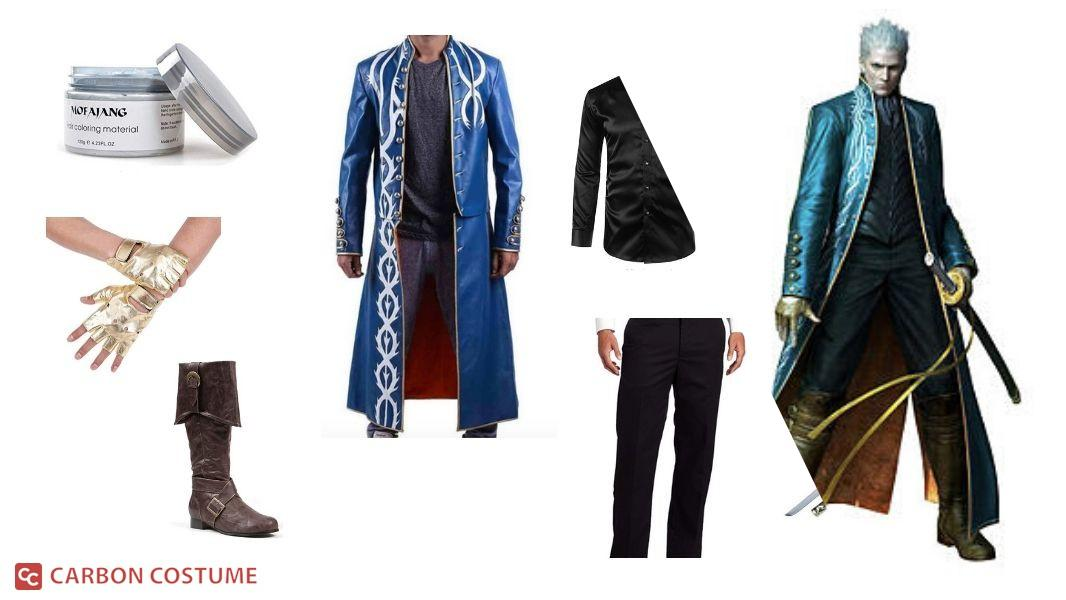 Vergil from Devil May Cry 3 Cosplay Tutorial