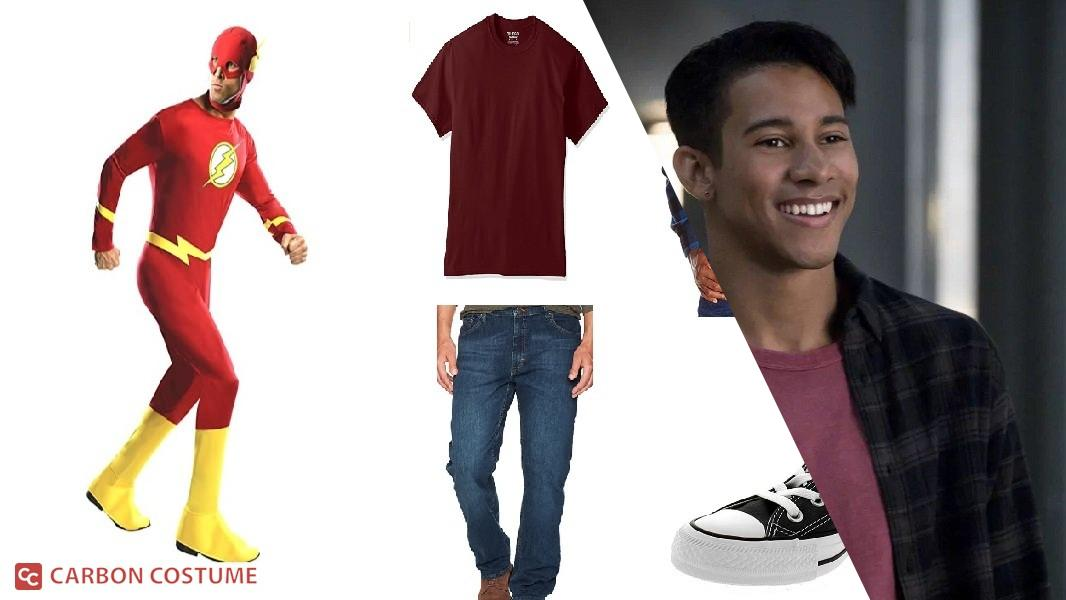 Wally West / Kid Flash from The Flash Cosplay Tutorial