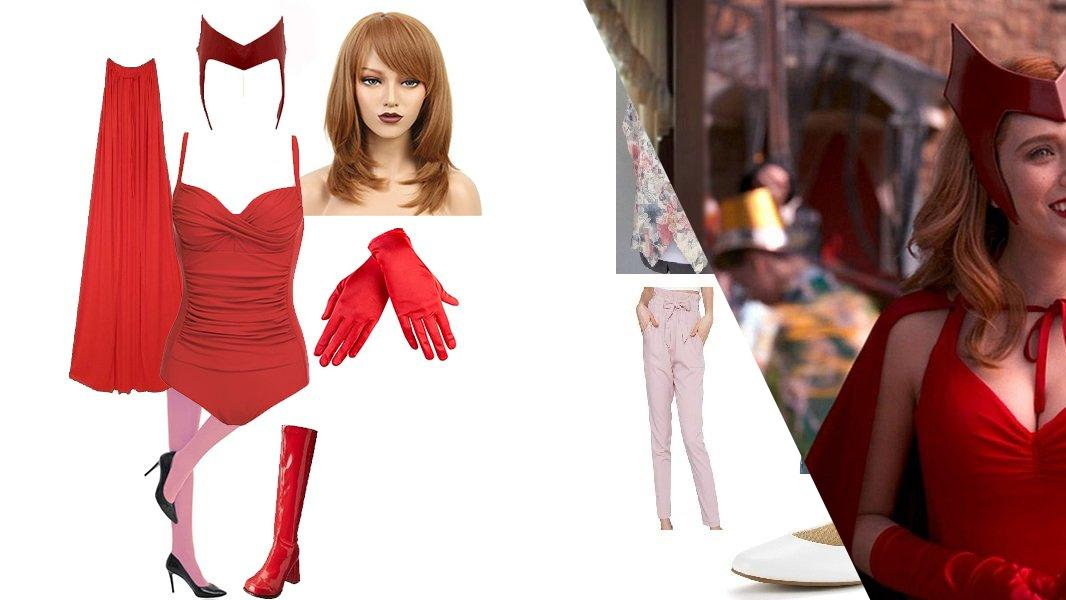 Wanda Maximoff from the WandaVision First Look Cosplay Tutorial