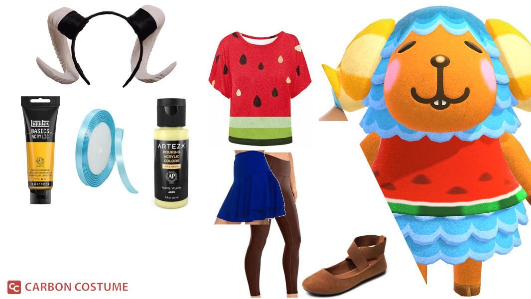 Wendy from Animal Crossing Cosplay Tutorial