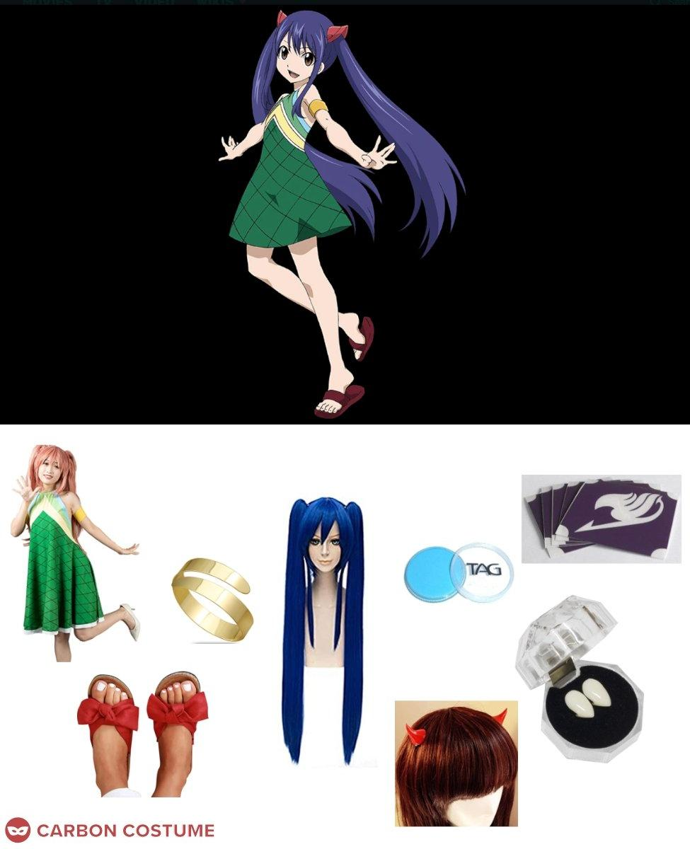 Wendy Marvell from Fairy Tail Cosplay Guide